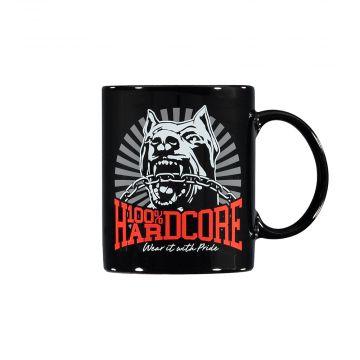 100% Hardcore mug *DOG-1* [printed on both sides] | black