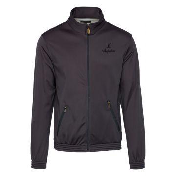 Australian acetaat jacket uni | anthracite