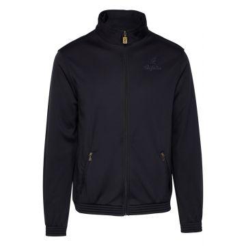 Australian acetate jacket uni black
