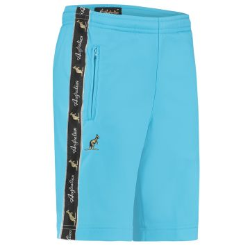 Australian bermuda with two zippers and a black stripe 2.0   smurf blue