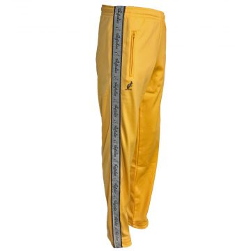 Australian pants with silver stripe | sunflower yellow