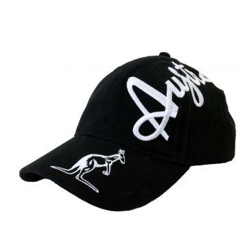 Australian cap crossover logo black EXCLUSIVE!