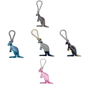 Australian keychains set of 5 | marble effect