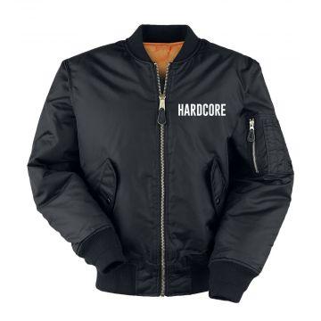 Hard-Wear bomberjack hardcore   zwart