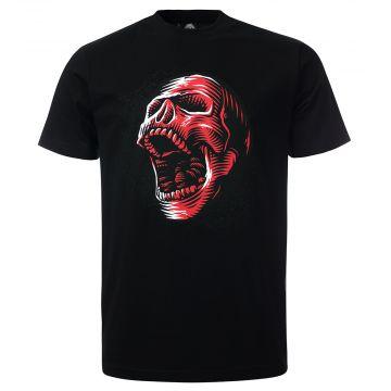 100% Hardcore T-shirt BLOODY SCREAM | zwart