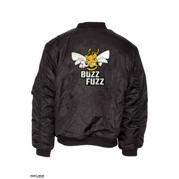 Buzz Fuzz (EXCLUSIVE) bomberjack embroidered logo | black