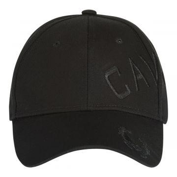 Cavello cap crossover embroidery logo black | black