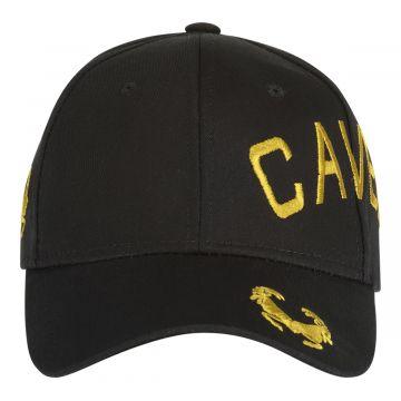 Cavello cap crossover embroidery logo gold | black