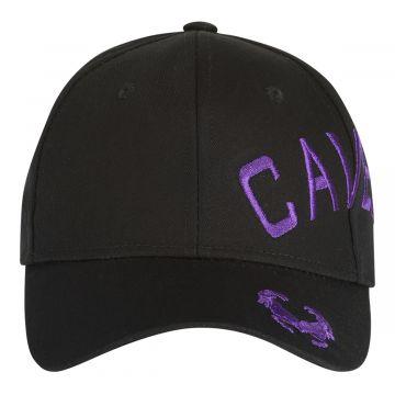 Cavello cap crossover embroidery logo purple | black