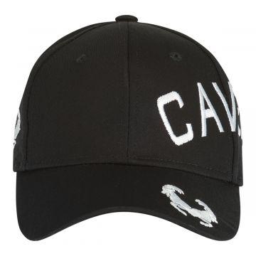 Cavello cap crossover embroidery logo white | black