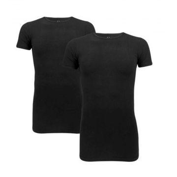 Cavello t-shirts 2-pack   O-neck x zwart