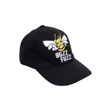 Buzz Fuzz Cap Embroidered Logo | black