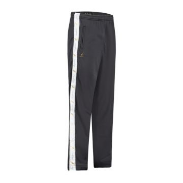 Australian pants with white stripe and 2 zippers 2.0   anthracite