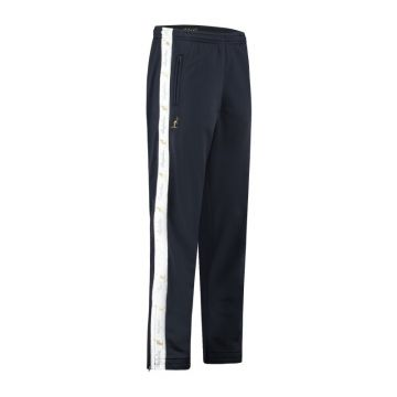 Australian pants with white stripe and 2 zippers 2.0   navy