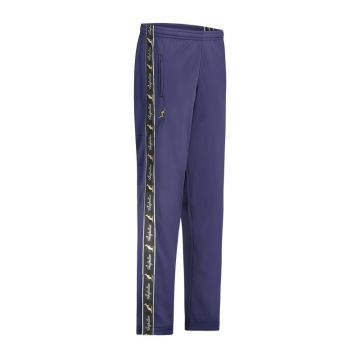 Australian pants with black stripe and 2 zippers 2.0   cosmo blue