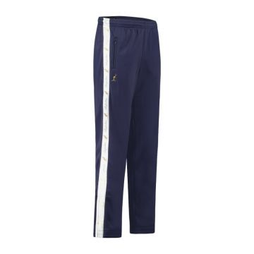 Australian pants with white stripe and 2 zippers 2.0   cosmo blue