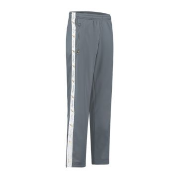 Australian pants with white stripe and 2 zippers 2.0   dark gray