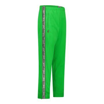 Australian pants gray stripe | kawasaki green
