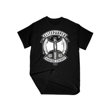 ELITE PAUPER. T-shirt warrior | black