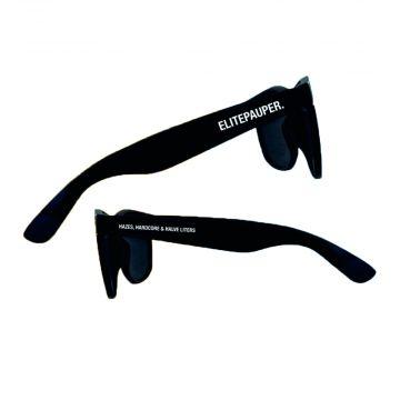 Elitepauper zonnebril Hazes, hardcore & halve liters   zwart