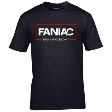 Faniac T-shirt Early Hardcore Only | black