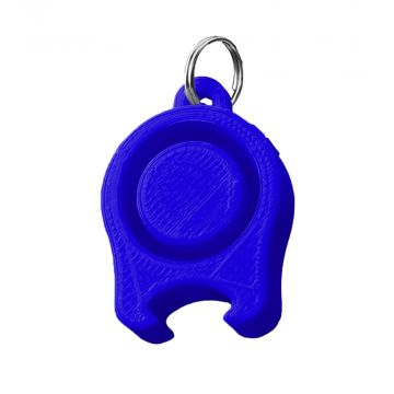 Festicap universal festival cap with beer opener | blue
