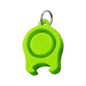 Festicap universal festival cap with beer opener | green