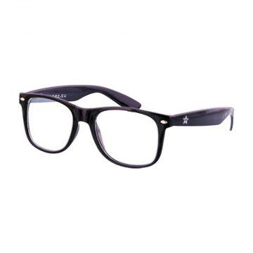 Festival/Gabber space glasses | black