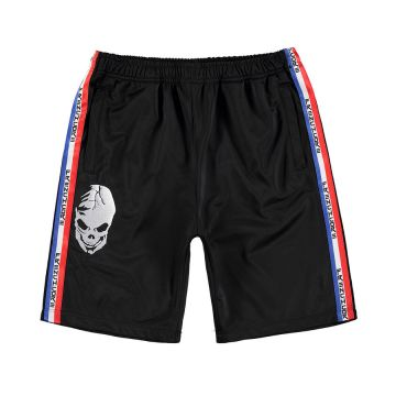 Frenchcore shorts with stripe CLASSIC | black