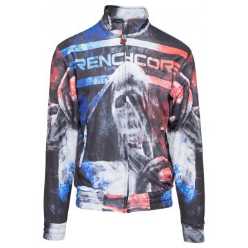 Frenchcore print jacket   justice