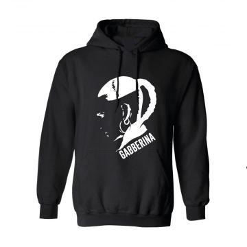 Hard-Wear Hooded Sweater Gabberina | black