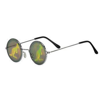 Hard-Wear gabber glasses Australian hologram