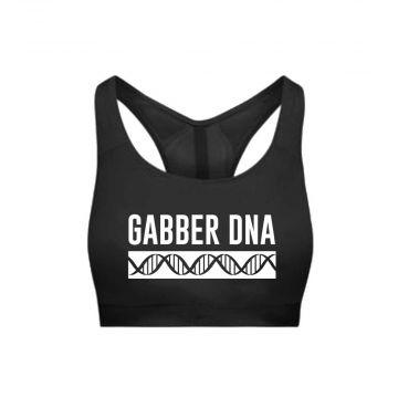 Hard-Wear Ladies Sporttop DNA   black