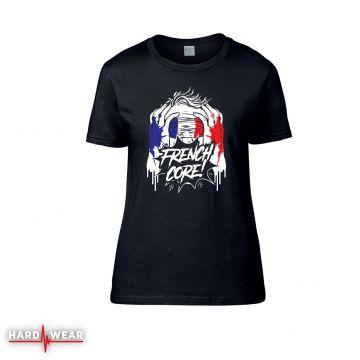 Hard-Wear Frenchcore dames t-shirt | blindfolded
