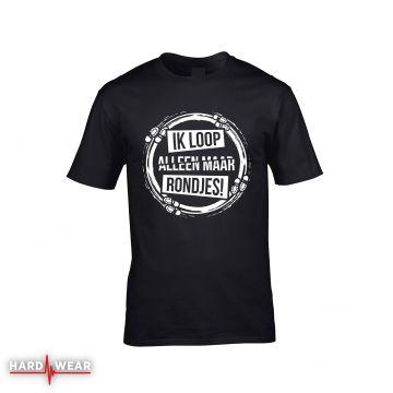 Hard-Wear originals t-shirt | ik loop alleen maar rondjes