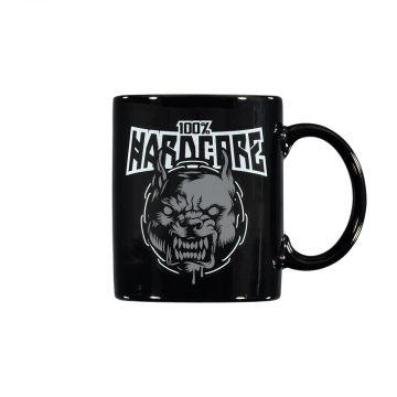 100% Hardcore mug RAGE [printed on both sides] | black