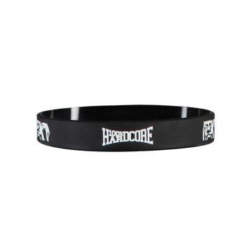100% Hardcore Wristband | 100% Hardcore ☓ Black-White