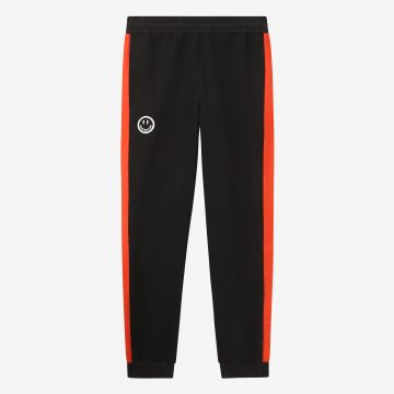 Australian Hard Court sweatpants with lava stripe smile artwork