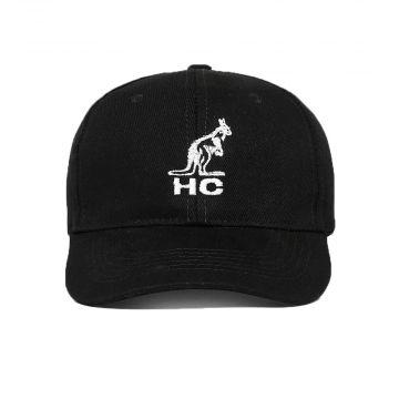 Australian cap Hard Court logo embroidery | black