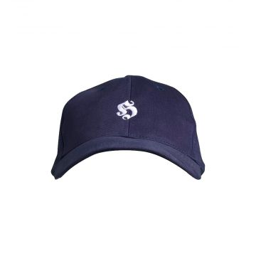 Hooligan cap basic embroidered logo | navy blue