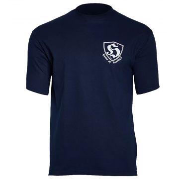 Hooligan T-shirt Home Of Football | navy blue
