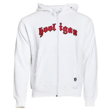 Hooligan Zip Hoodie Classic | white