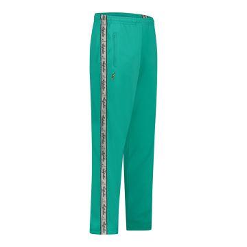 Australian pants gray stripe | turquoise