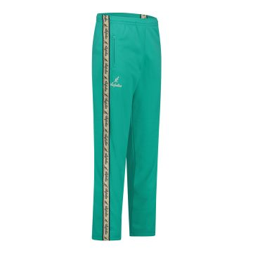 Australian pants with gold stripe and 2 zippers   turquoise