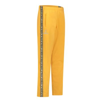 Australian pants with gold stripe and 2 zippers   sunflower yellow