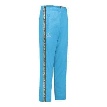Australian pants with gold stripe and 2 zippers   smurf blue