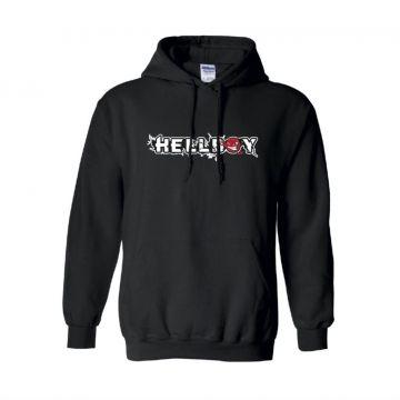 Hellboy hooded sweater devil collectie | zwart