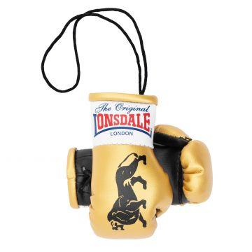Lonsdale Mini Boxing Gloves   gold