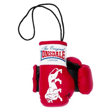 Lonsdale Mini Boxing Gloves   red