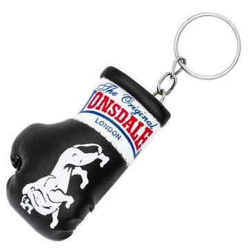 Lonsdale Keychain Mini Boxing Glove   black